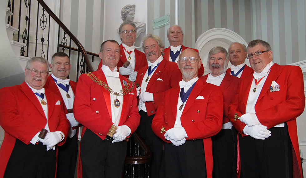 Members of the Toastmaster Partnership